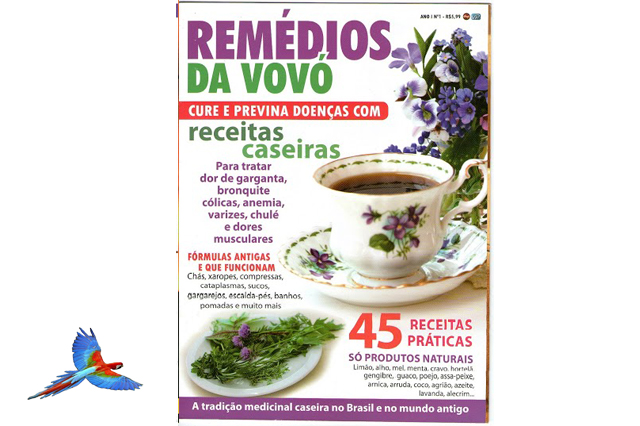 Tea Natural Health Food cover of magazine